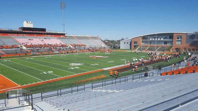 Vista sentada para Doyt Perry Stadium Secção 8 Fila 30 Lugar 3