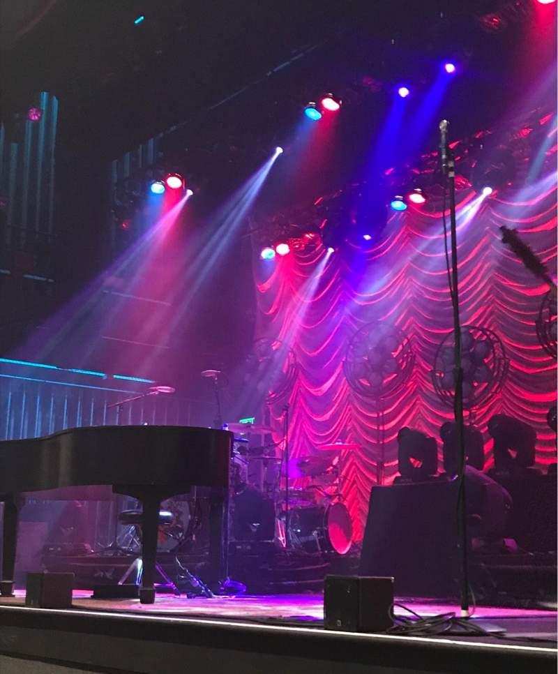 Vista sentada para Capitol Theatre (Clearwater) Secção Orchestra right Fila C Lugar 4