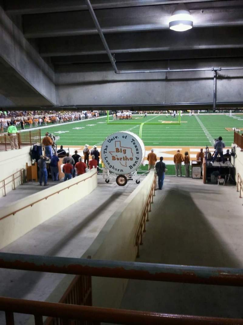 Vista sentada para Texas Memorial Stadium