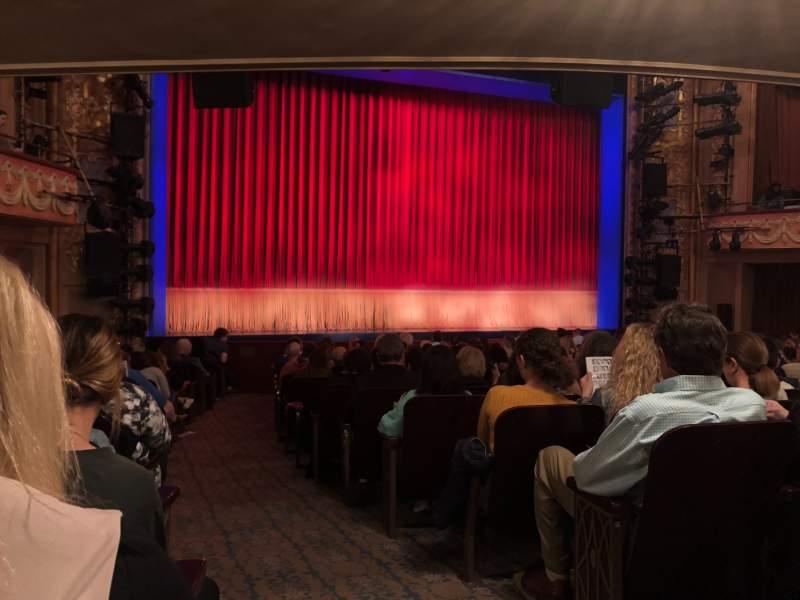 Vista sentada para Longacre Theatre Secção Orchestra L Fila Q Lugar 2