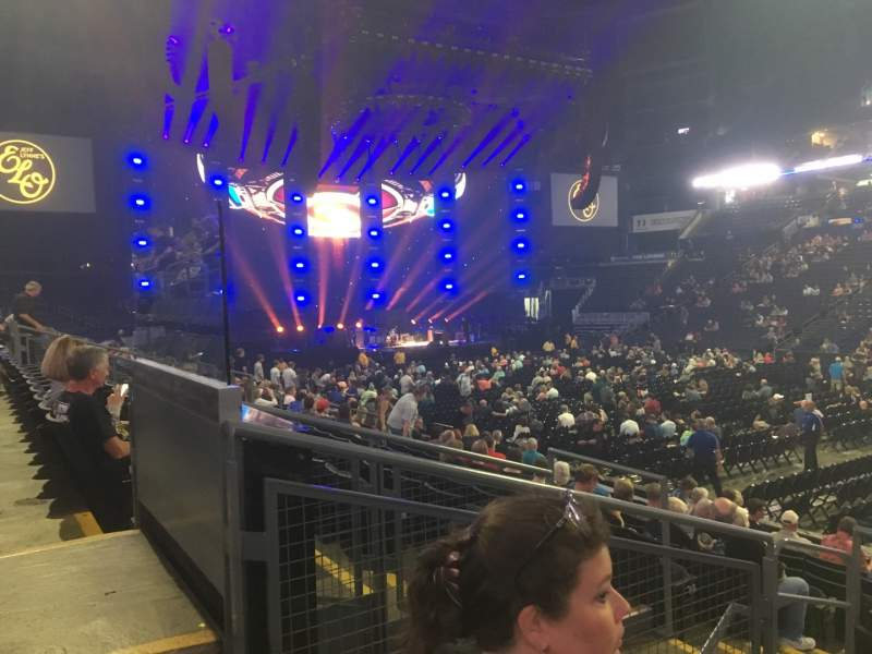 Vista sentada para Nationwide Arena Secção 113 Fila M Lugar 15