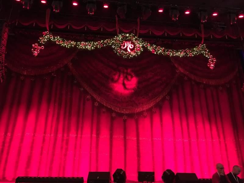 Vista sentada para Beacon Theatre Secção Orchestra C Fila E Lugar 106