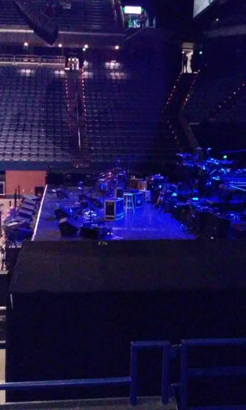 Vista sentada para Rupp Arena Secção 12 Fila D Lugar 2