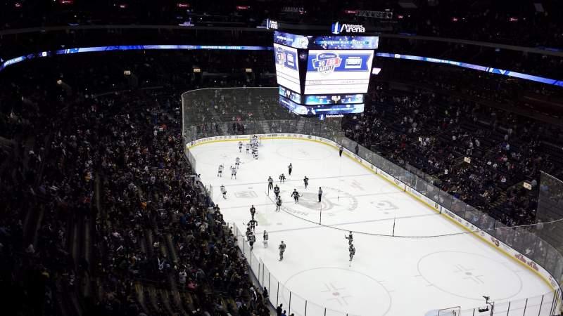 Vista sentada para Nationwide Arena Secção 226 Fila P Lugar 11