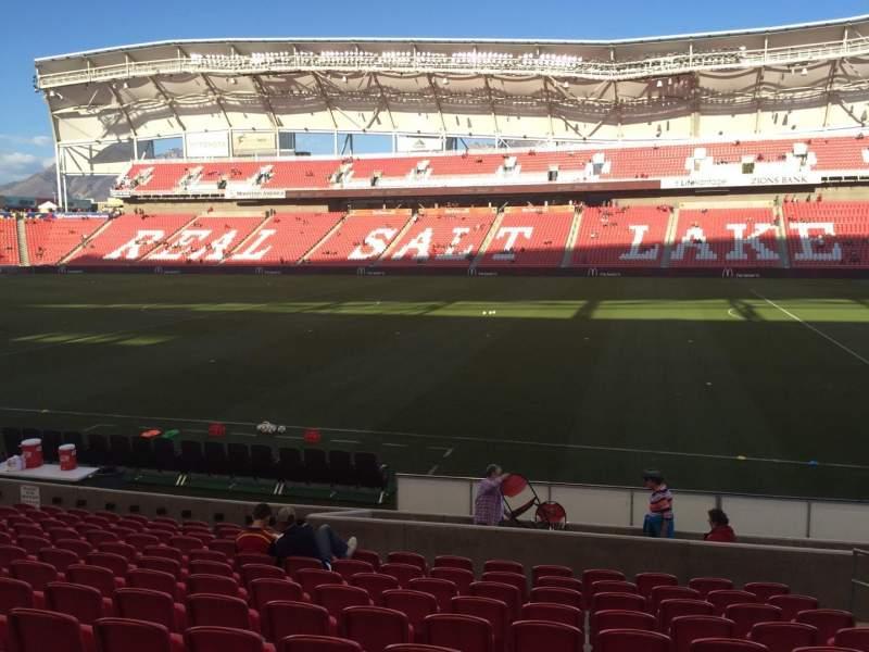 Vista sentada para Rio Tinto Stadium Secção 17 Fila M Lugar 5