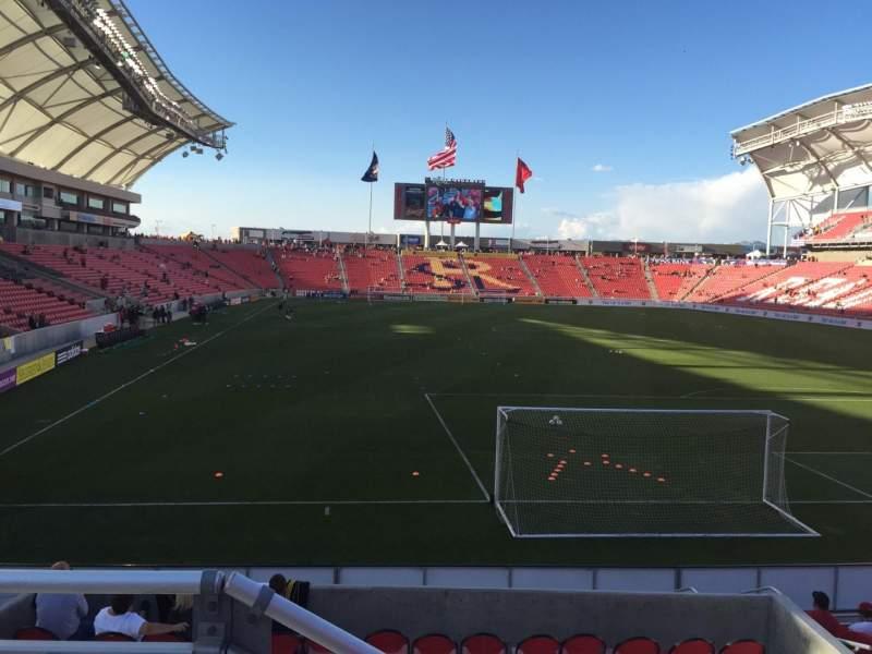 Vista sentada para Rio Tinto Stadium Secção 12 Fila J Lugar 12