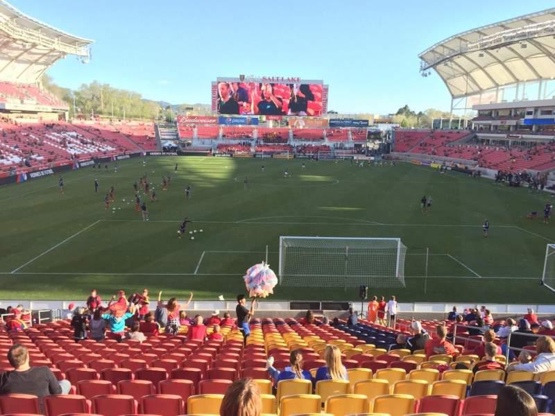Vista sentada para Rio Tinto Stadium Secção 29 Fila Z Lugar 10