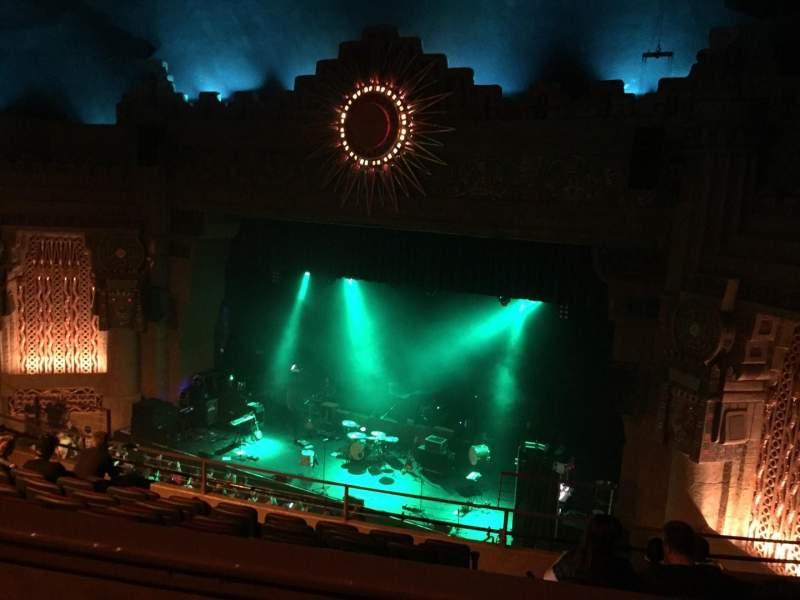 Vista sentada para Aztec Theatre Secção Balcony Fila H Lugar 2