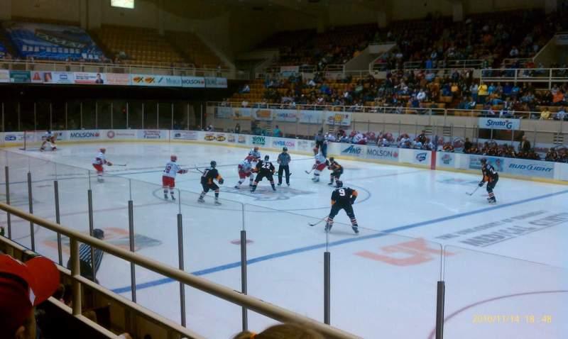 Vista sentada para Knoxville Civic Coliseum