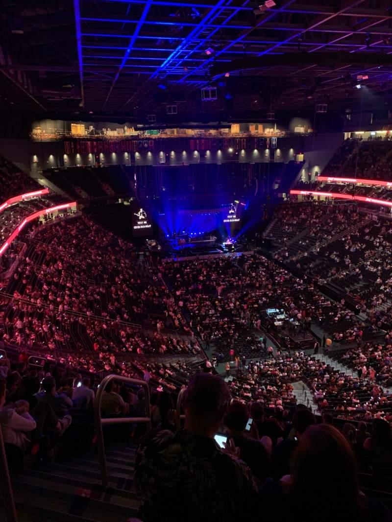 Vista sentada para T-Mobile Arena Secção 212 Fila Q Lugar 1,2