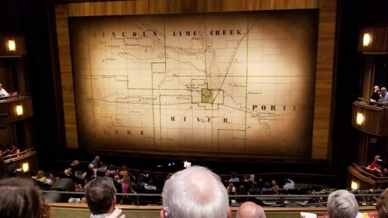 Vista sentada para Goodman Theatre - Albert Theatre Secção Aisle 5 Fila CC Lugar 16