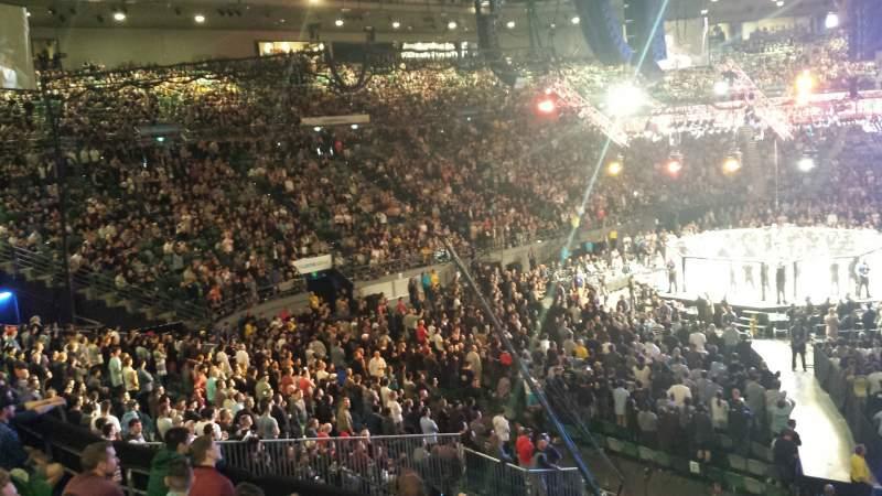 Vista sentada para Rod Laver Arena