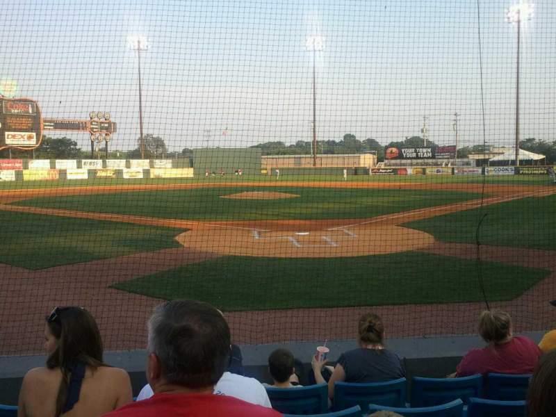 Vista sentada para Herschel Greer Stadium Secção N   Fila 7 Lugar 11