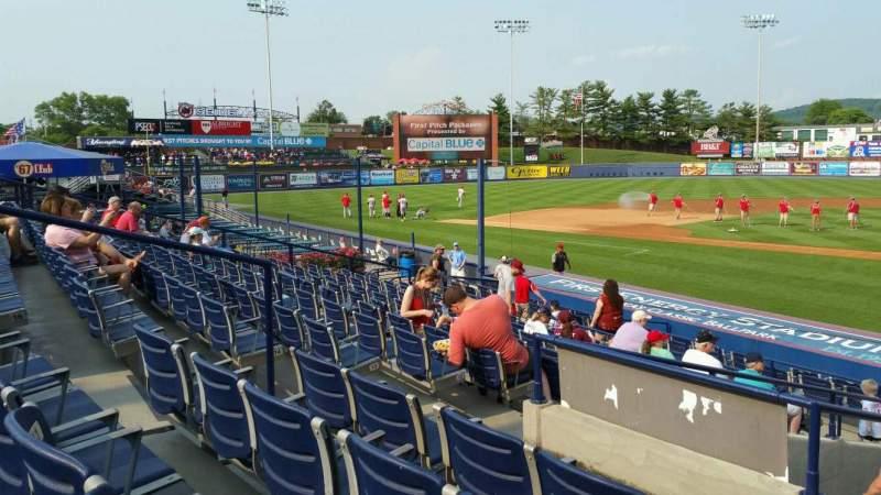 Vista sentada para FirstEnergy Stadium (Reading) Secção Box 8 Fila 17 Lugar 8