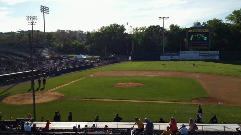 Vista sentada para New Britain Stadium Secção 203 Fila K Lugar 22