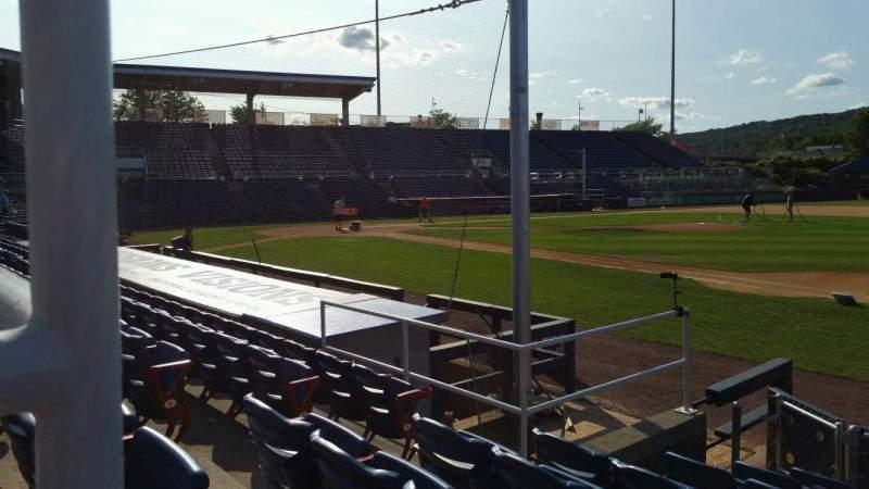 Vista sentada para NYSEG Stadium Secção 14 Fila H Lugar 6
