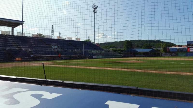 Vista sentada para NYSEG Stadium Secção 12 Fila D Lugar 1