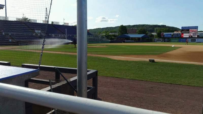 Vista sentada para NYSEG Stadium Secção 12 Fila D Lugar 16