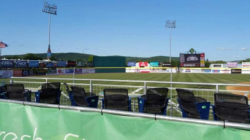 Vista sentada para NYSEG Stadium Secção 111 Fila K Lugar 22