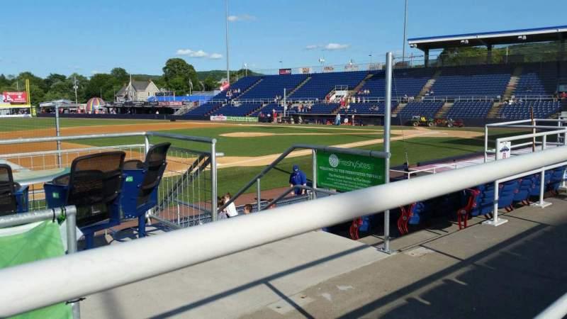 Vista sentada para NYSEG Stadium Secção 111 Fila K Lugar 12