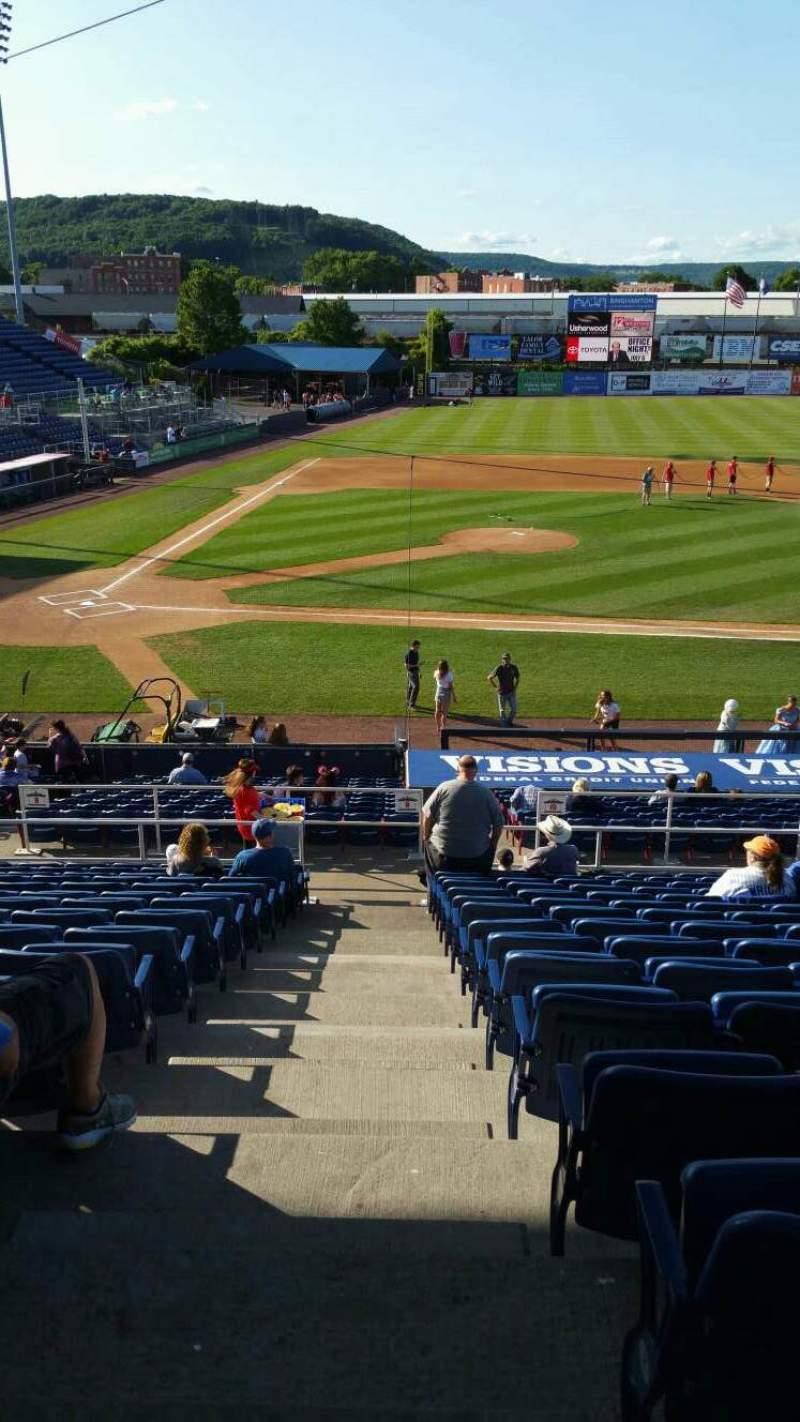 Vista sentada para NYSEG Stadium Secção 106 Fila Z Lugar 24