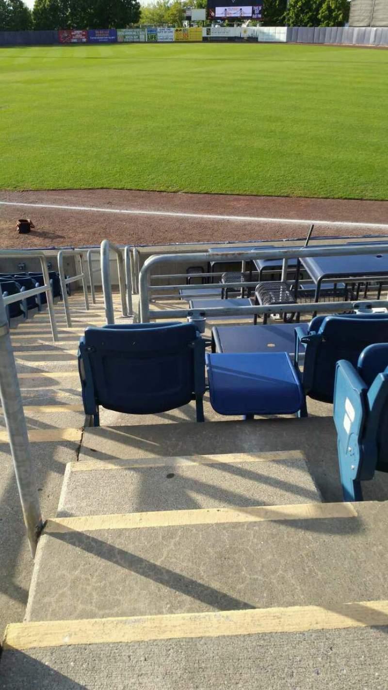 Vista sentada para Richmond County Bank Ballpark Secção 17 Fila N Lugar 24