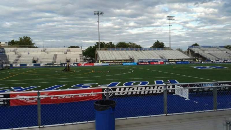 Vista sentada para James M. Shuart Stadium Secção 6 Fila 5 Lugar 26