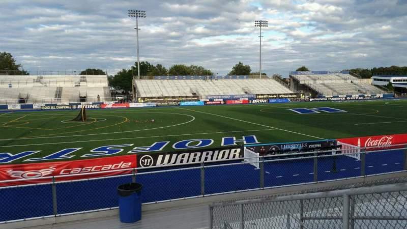 Vista sentada para James M. Shuart Stadium Secção 6 Fila 10 Lugar 26