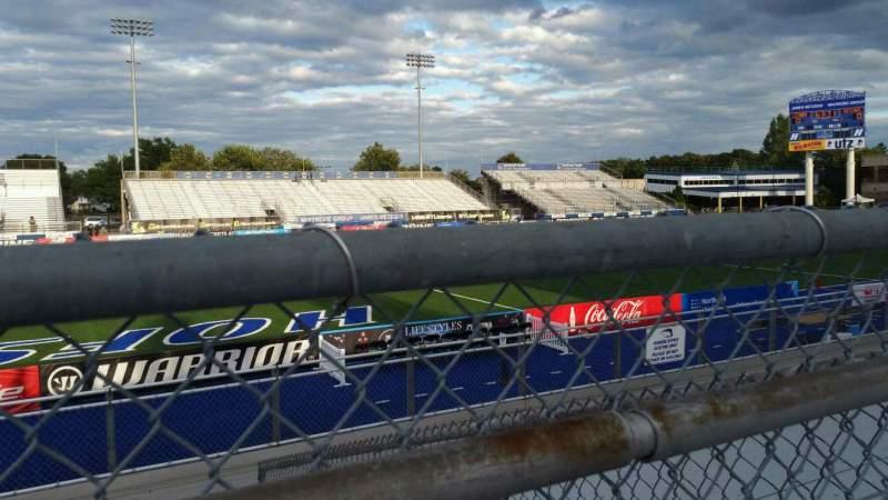 Vista sentada para James M. Shuart Stadium Secção 6 Fila 10 Lugar 22