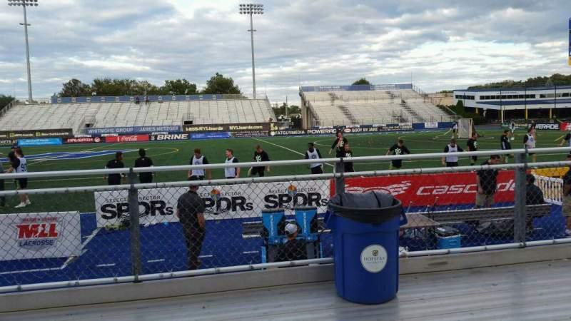 Vista sentada para James M. Shuart Stadium Secção 3 Fila 3 Lugar 20