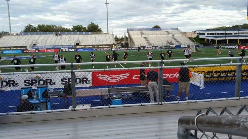 Vista sentada para James M. Shuart Stadium Secção 3 Fila 3 Lugar 13