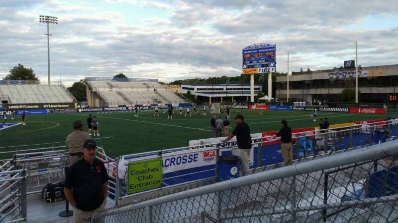 Vista sentada para James M. Shuart Stadium Secção 4 Fila G Lugar 19