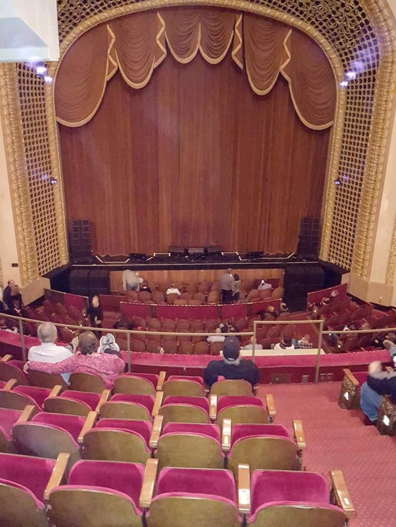 Vista sentada para Pabst Theater Secção 2CT Balc Fila G Lugar 5