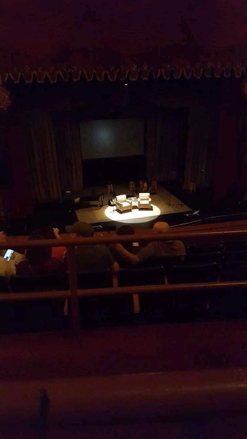Vista sentada para Riverside Theater (Milwaukee) Secção 2LC Fila F Lugar 9