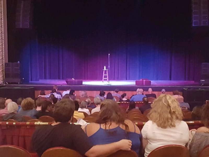 Vista sentada para Pabst Theater Secção CT Fila P Lugar 10