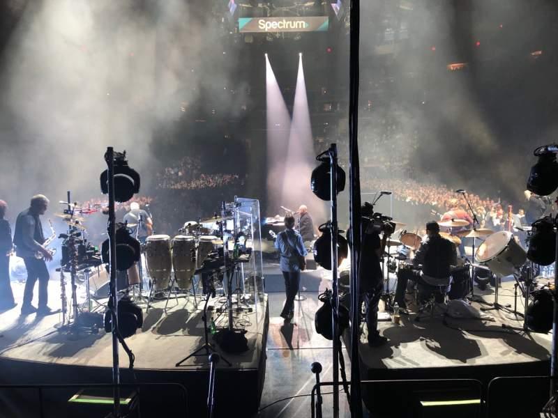 Vista sentada para Madison Square Garden Secção 112 Fila 6 Lugar 7