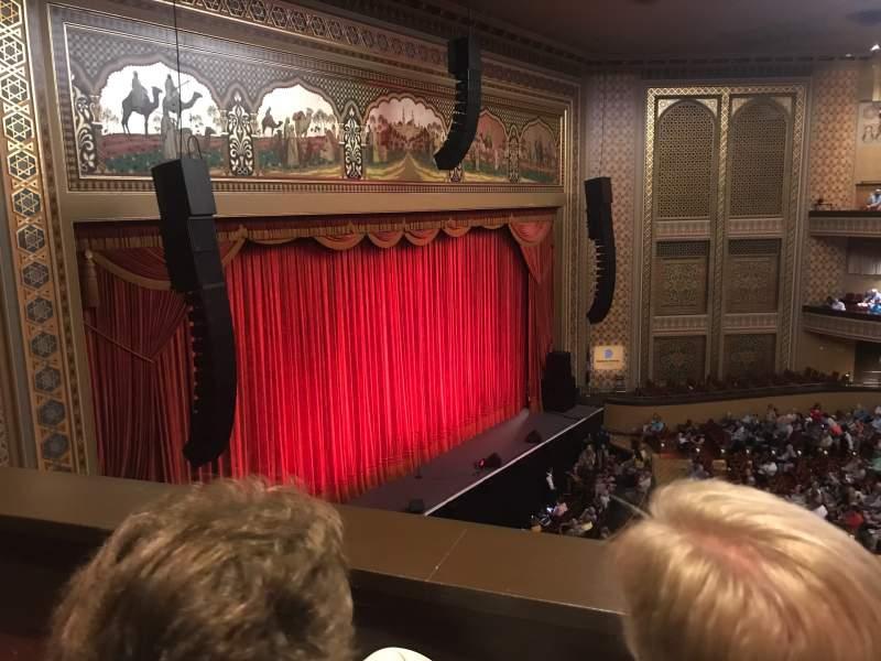 Vista sentada para Altria Theater Secção Balcony J Fila B Lugar 1002