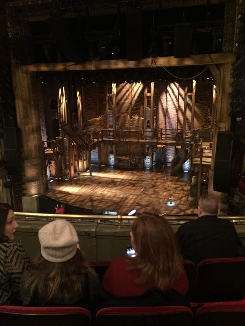 Vista sentada para CIBC Theatre Secção Mezzanine RC Fila D Lugar 322
