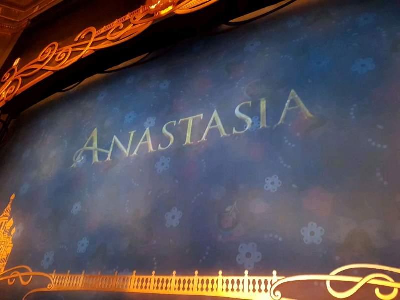 Vista sentada para Broadhurst Theatre Secção Orchestra C Fila B Lugar 114