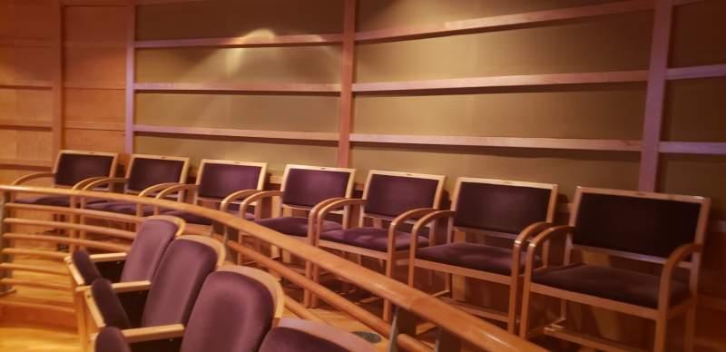 Vista sentada para The Music Center at Strathmore Secção Orchestra Tier Fila LL Lugar 2-8