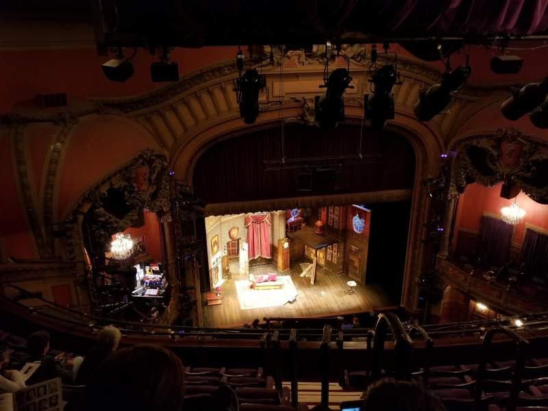 Vista sentada para Lyceum Theatre (Broadway) Secção Balcony L
