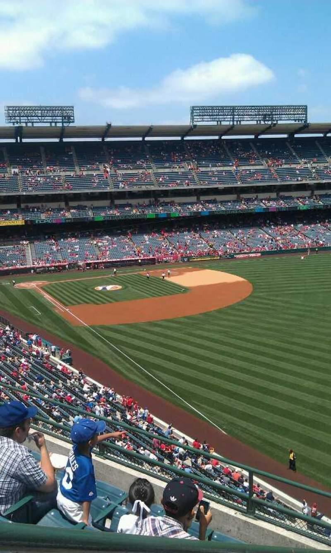 Vista sentada para Angel Stadium Secção V433 Fila f  Lugar 1