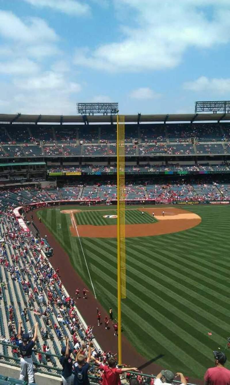 Vista sentada para Angel Stadium Secção 435 Fila j  Lugar 16