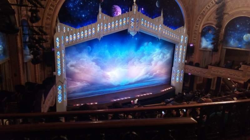Vista sentada para Eugene O'Neill Theatre Secção Mezz Fila F Lugar 5