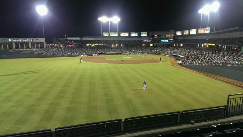 Vista sentada para Dell Diamond Secção Home Run Porch Fila 5 Lugar 9