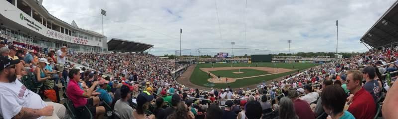 Vista sentada para Hammond Stadium at CenturyLink Sports Complex Secção 207 Fila 7 Lugar 7