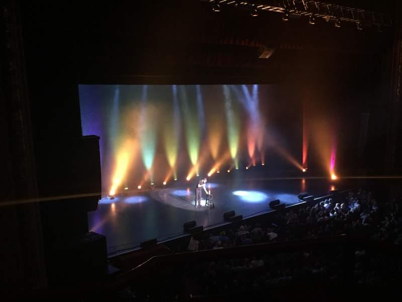 Vista sentada para Chicago Theatre Secção LOGE2L Fila BB Lugar 209-215
