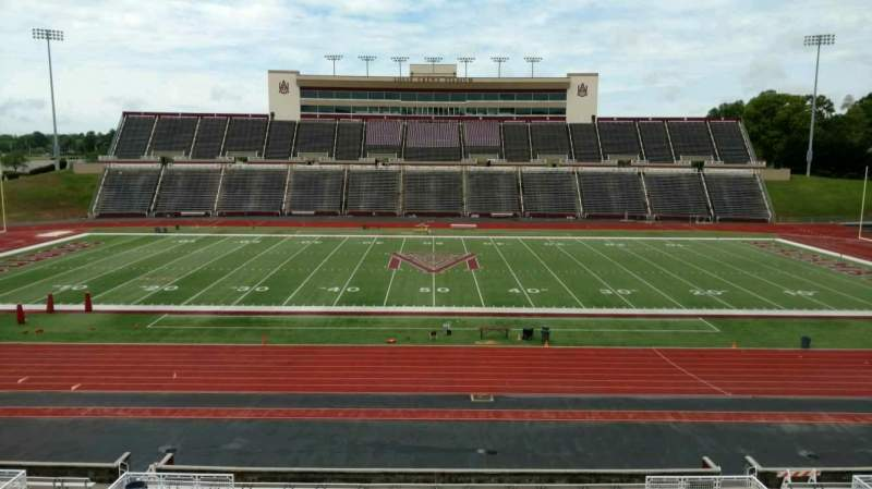 Vista sentada para Louis Crews Stadium Secção 22 Fila 30 Lugar 17
