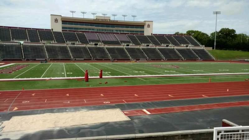 Vista sentada para Louis Crews Stadium Secção 26 Fila 5 Lugar 6