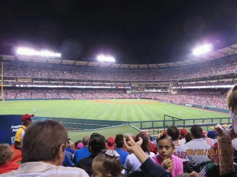 Vista sentada para Angel Stadium Secção 257 Fila Z Lugar 1